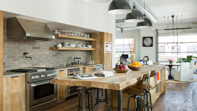 20 industrial lighting over kitchen table home design lover rh homedesignlover com industrial light fixtures for kitchen