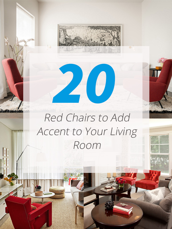 20 Red Chairs to Add Accent to Your Living Room | Home ...
