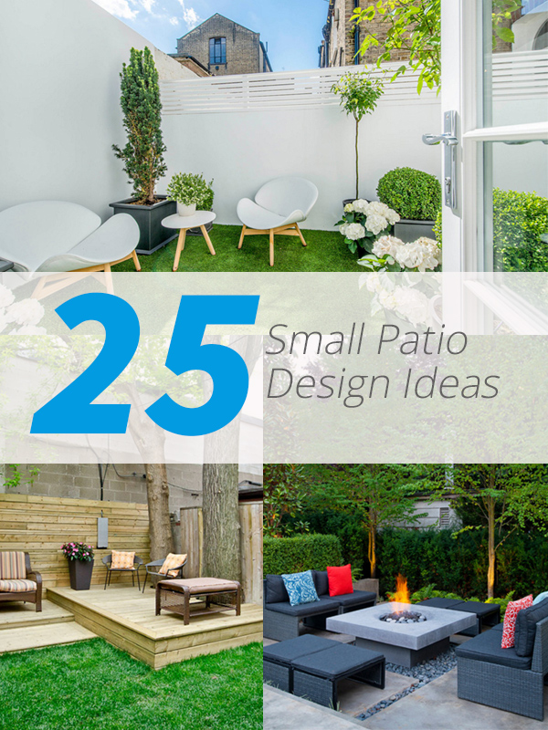 25 Practical Small Patio Ideas for Outdoor Relaxation ... on Small Outdoor Patio Ideas id=14874