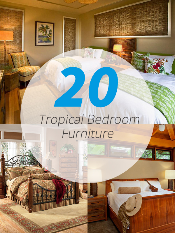 tropical furniture bedroom