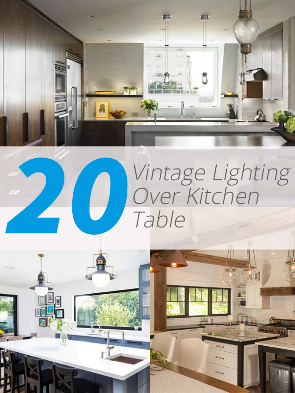 vintage lighting kitchen