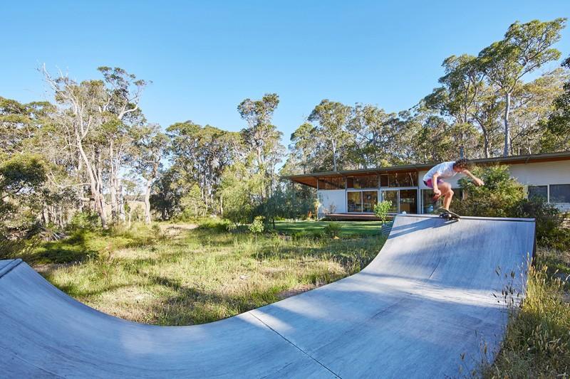 Bush House ramp