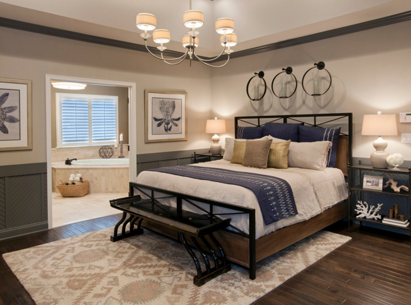 navy blue bedroom 20 beautiful bedroom designs with gold and navy accents 12683