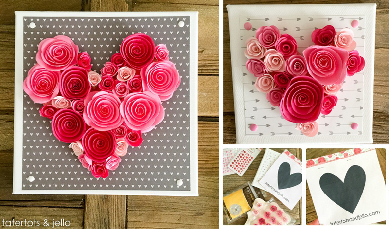 Easy 10-Minute Heart Wall Art