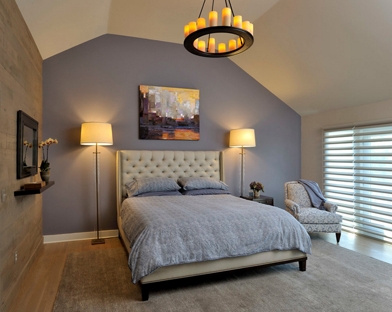 20 Circular Candle Chandeliers in the Bedroom | Home Design Lover