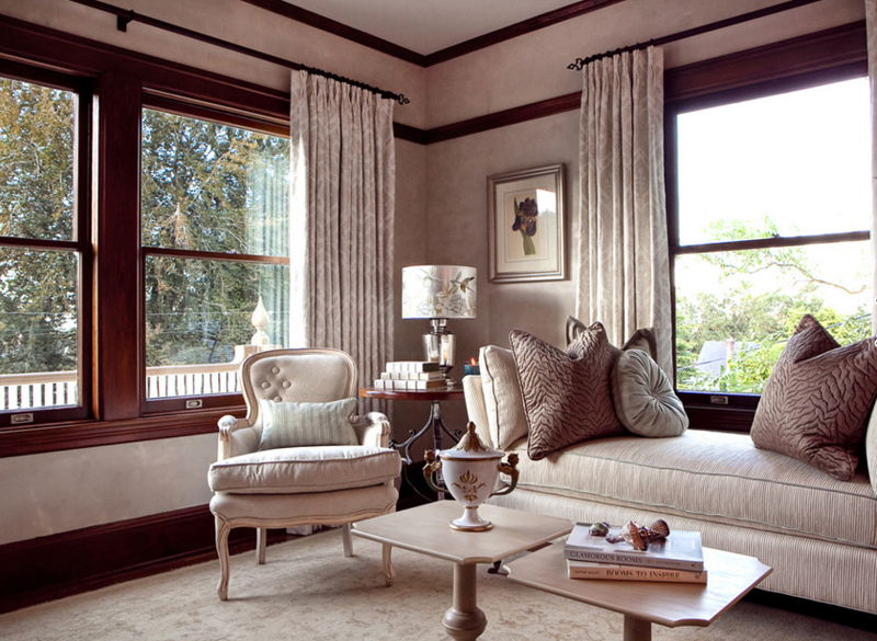 beige living room furniture