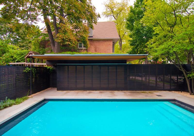 Fence Garage renovation outdoor pavers