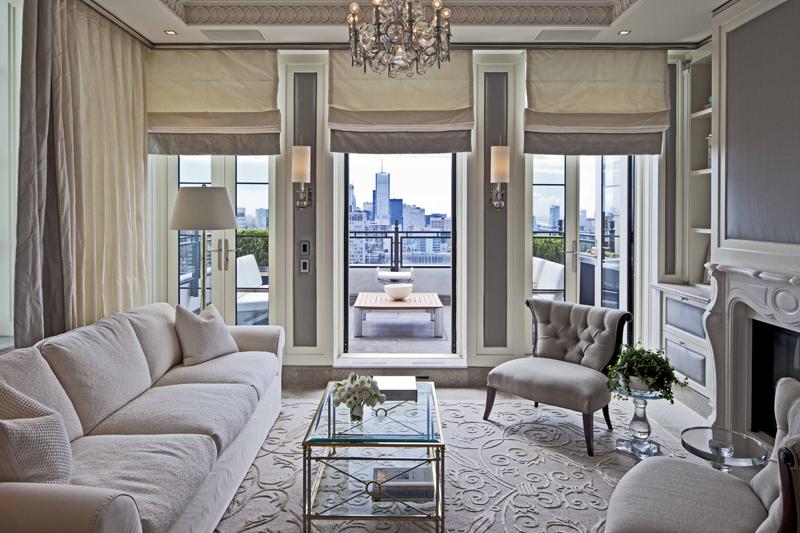 carpet design - Beige Living Room