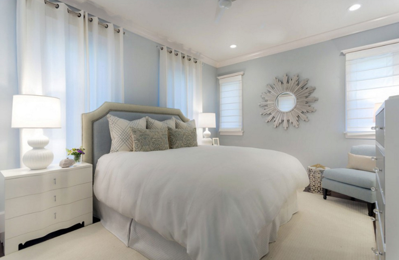 20 Beautiful Bedrooms With Sunburst Mirrors Home Design Lover