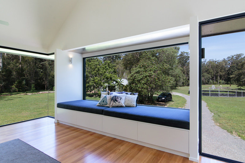 Platypus Bend House window seat