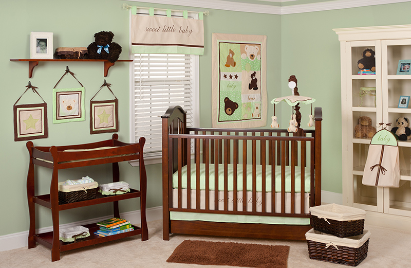 Baby Bear Bed Set