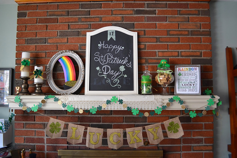 Rach Makes St. Patrick's Day Decorations