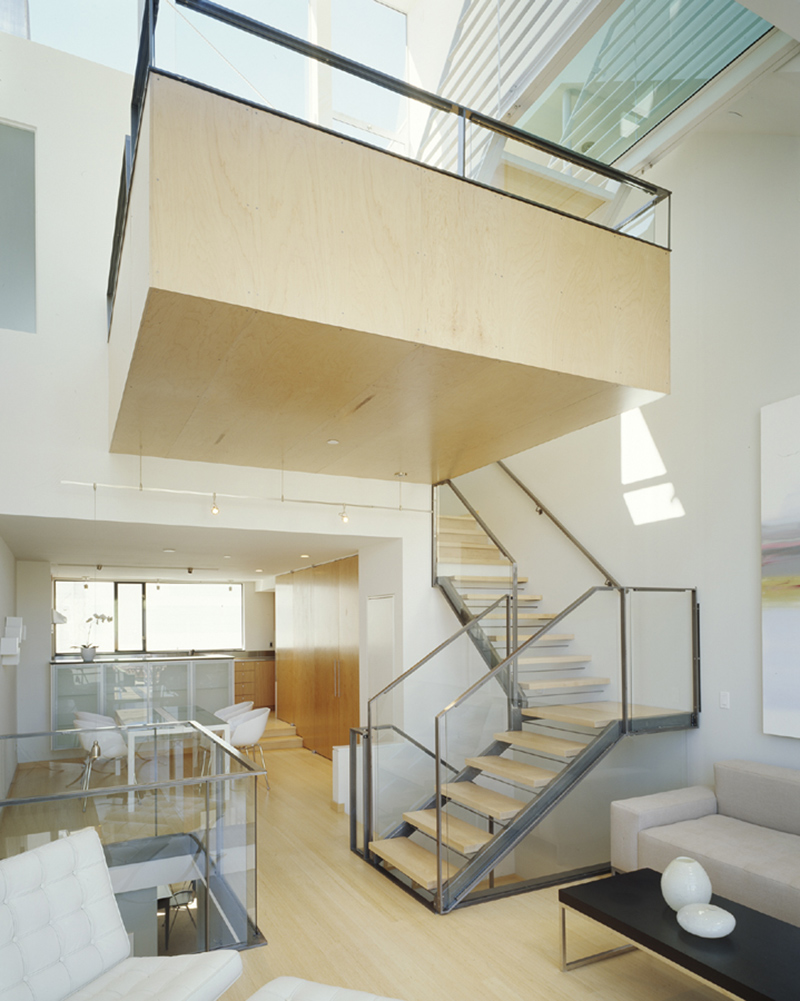 22 Sleek Glass Railings For The Stairs Home Design Lover