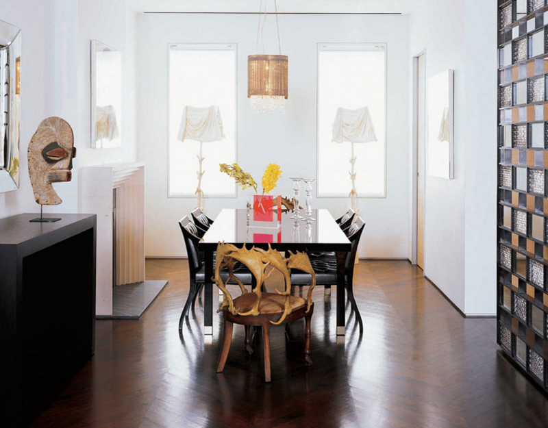 20 Interesting Bronze Accents In Dining Rooms Home