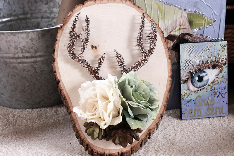 DIY String Art Wall Decor