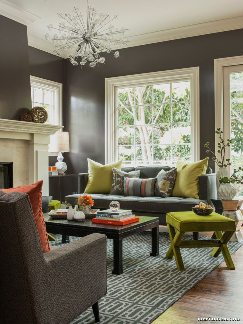 23 Green Accent Chairs In Living Room For A Refreshing Touch Home Design Lover