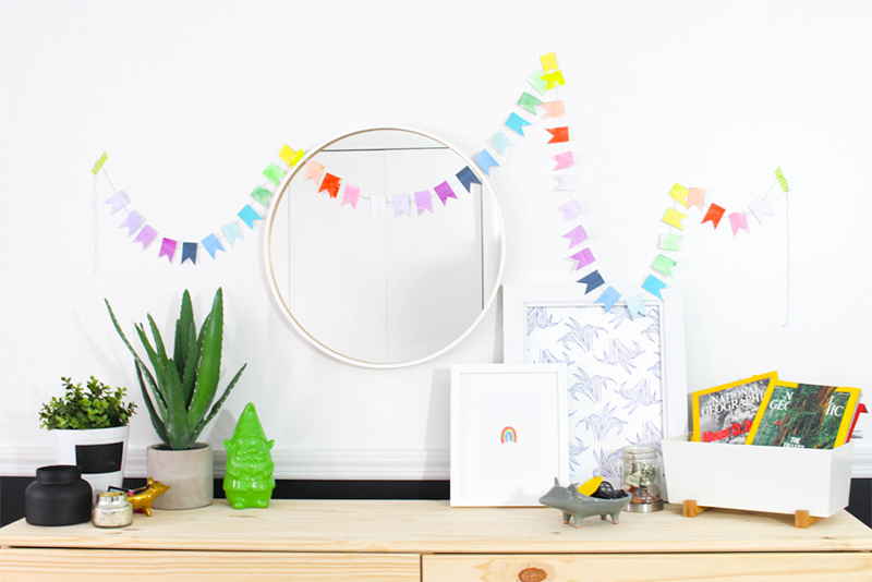 Lucky Rainbow Banner DIY