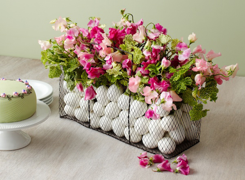 Easter Basket Centerpiece DIY