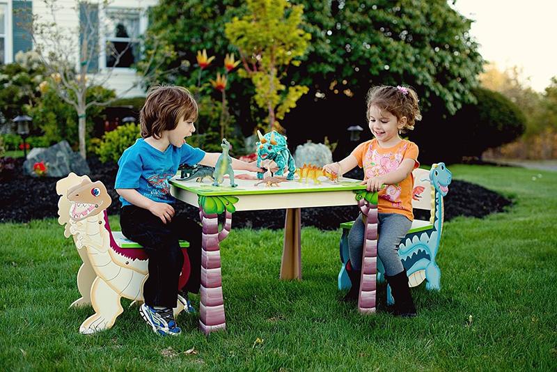 unique picnic tables for kids