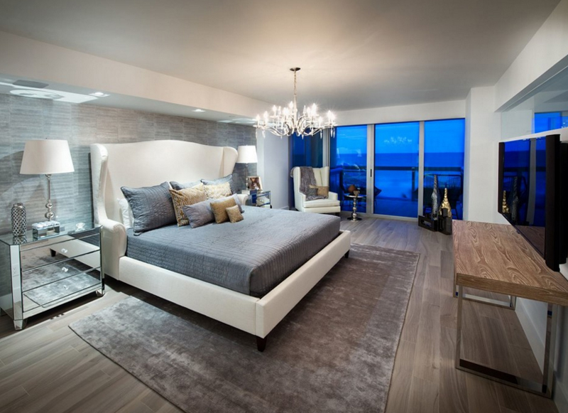 Gorgeous Bedrooms 20 gorgeous bedrooms with glass night stands | home design lover