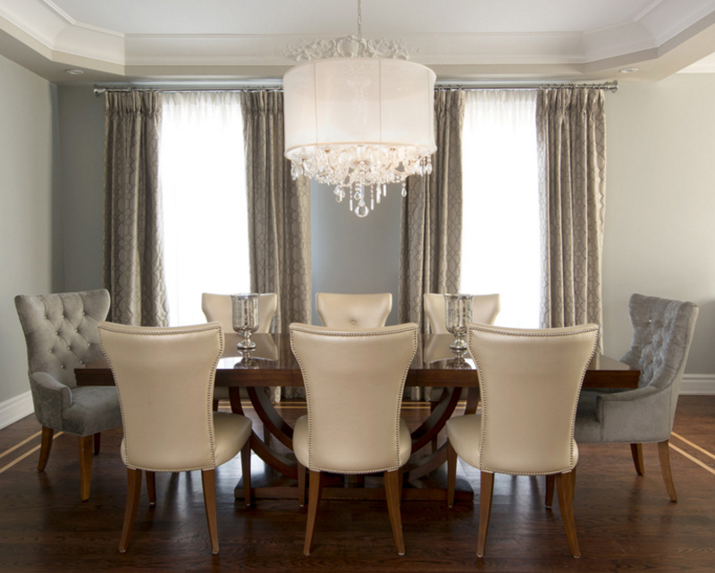 20 Assorted Crystal Chandeliers In Dining Rooms