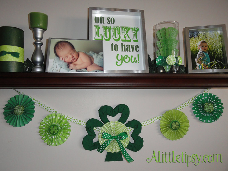22 DIY St. Patrick\'s Day Decorating Ideas on Mantels and ...
