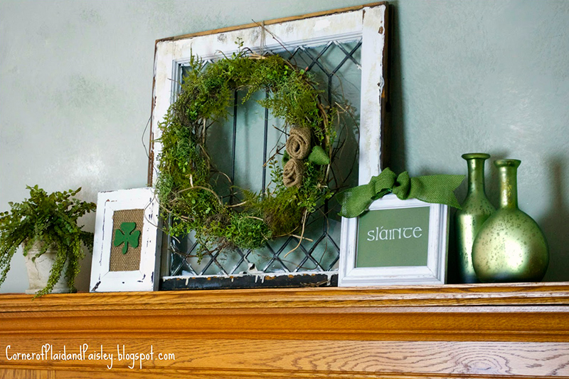 St. Patrick's Day 2013 Mantel
