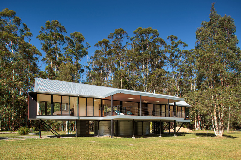 Platypus Bend House outdoor