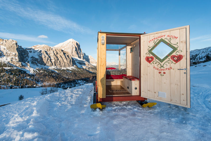 Starlight Room cabin ski