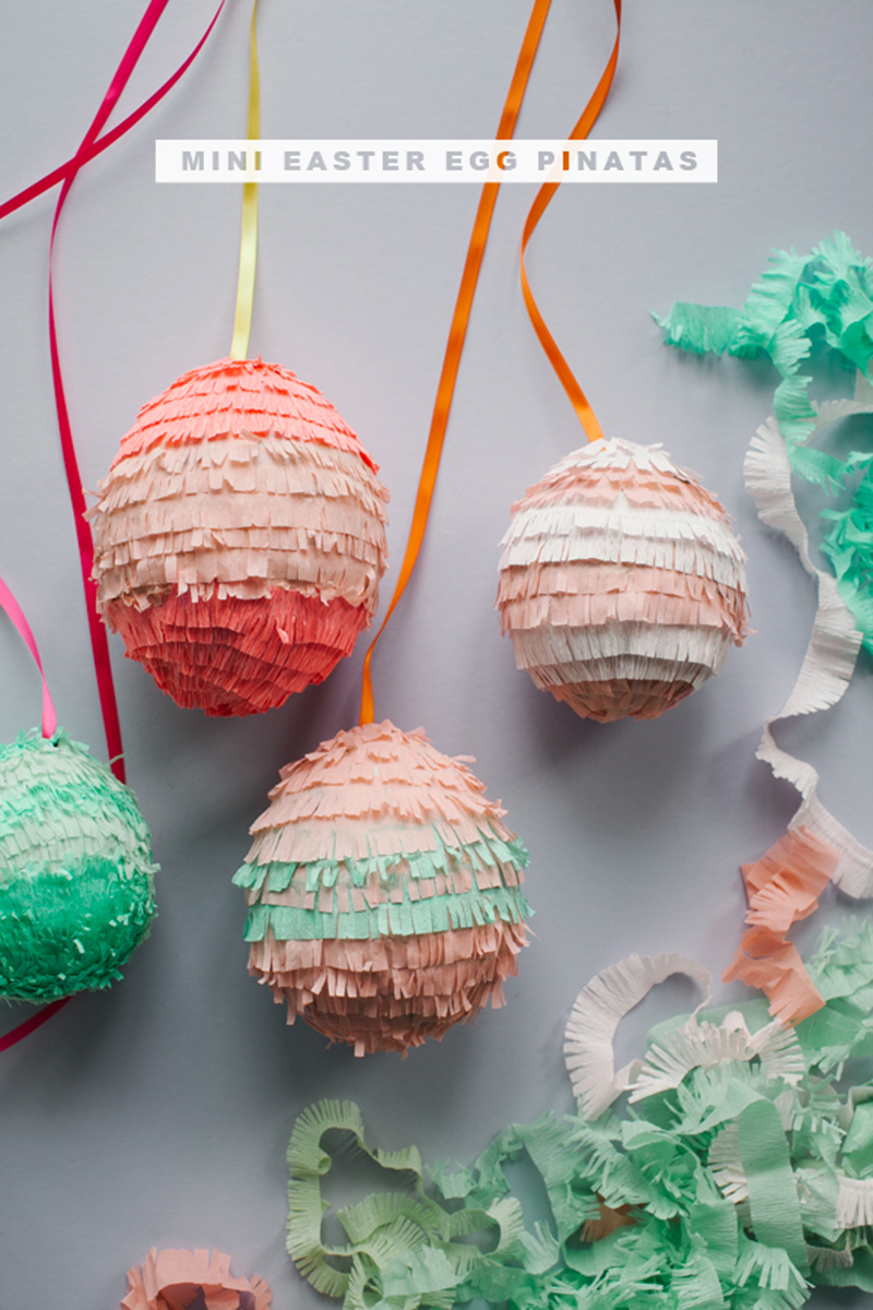 Egg Pinatas DIY