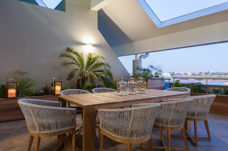 Patio Onnah Design dining