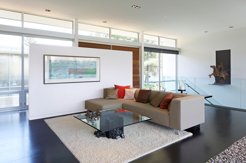 Riverview House interior