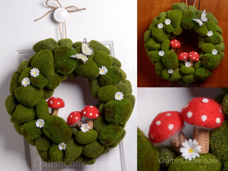 Moss Rock Wreath
