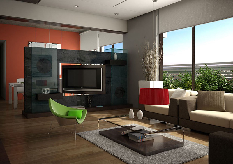 Luxury Living Room - Interior