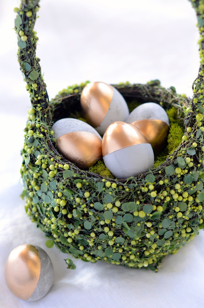 DIY Cement Easter Eggs