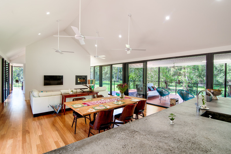 Platypus Bend House interior