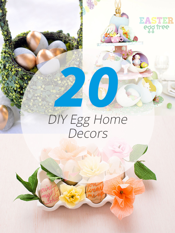 DIY egg decor