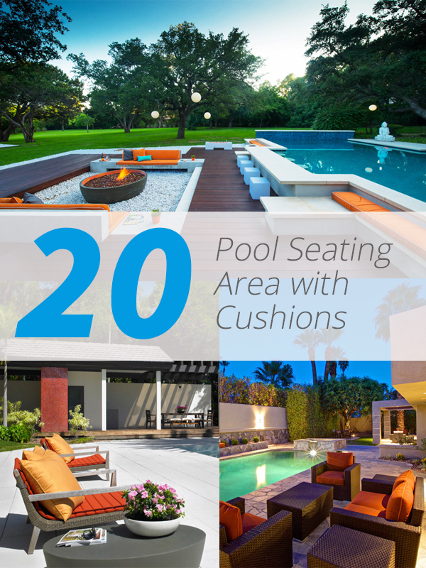 Finest 20 Pool Seating Area with Cushions | Home Design Lover CZ28