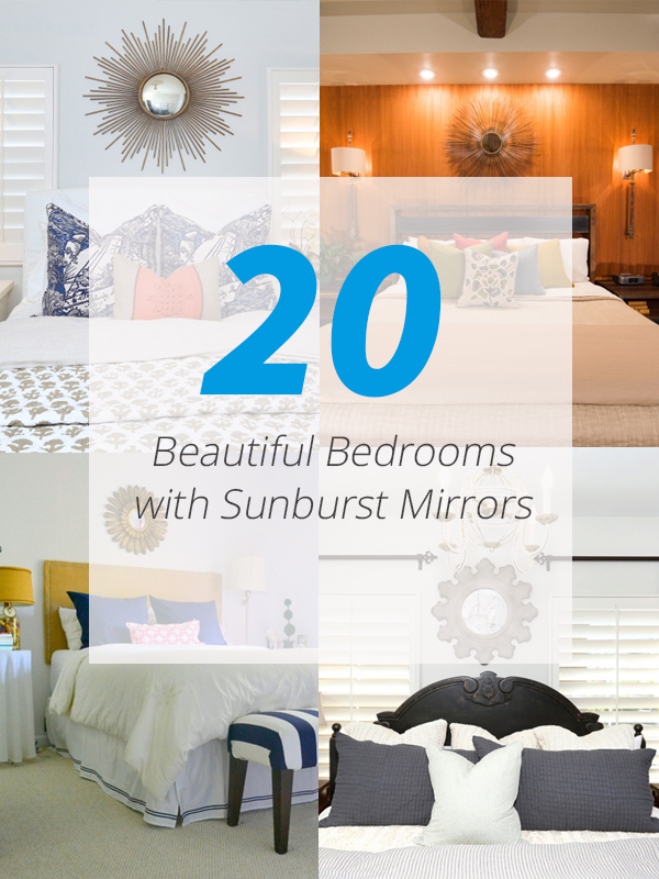 sunburst mirror bedrooms