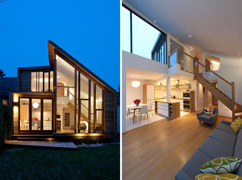 Scandinavian Home Extension In Scotland Home Design Lover