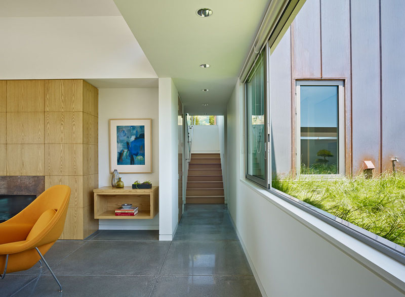 San Francisco Coastal Home hallway