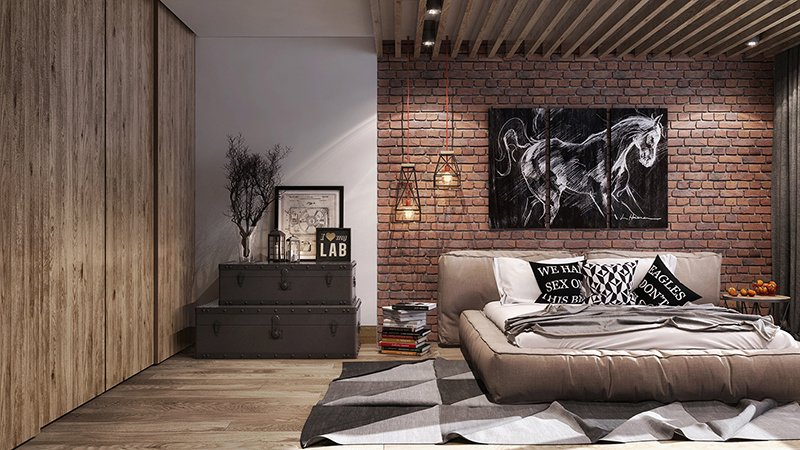 Loft Style 22 mind blowing loft-style bedroom designs | home design lover