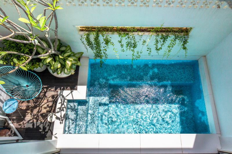 Contemporary Architecture in Singapore Swimming Pool