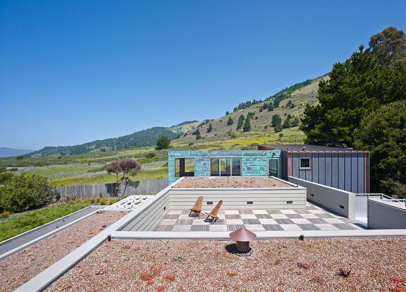 San Francisco Coastal Home roof