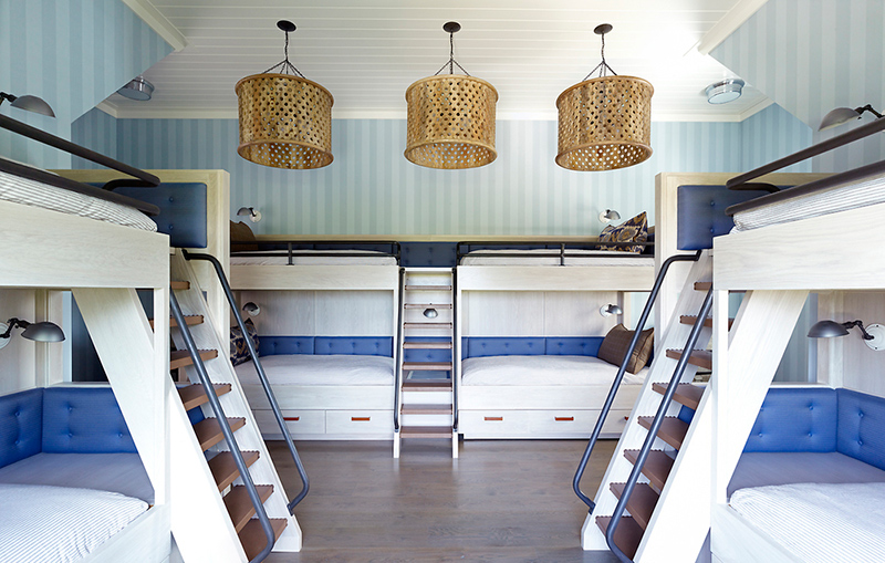 Queen Size Bunk Collage Bed