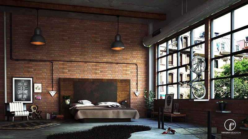 Interior Loft Bedroom Ideas 22 mind blowing loft style bedroom designs home design lover malaysia