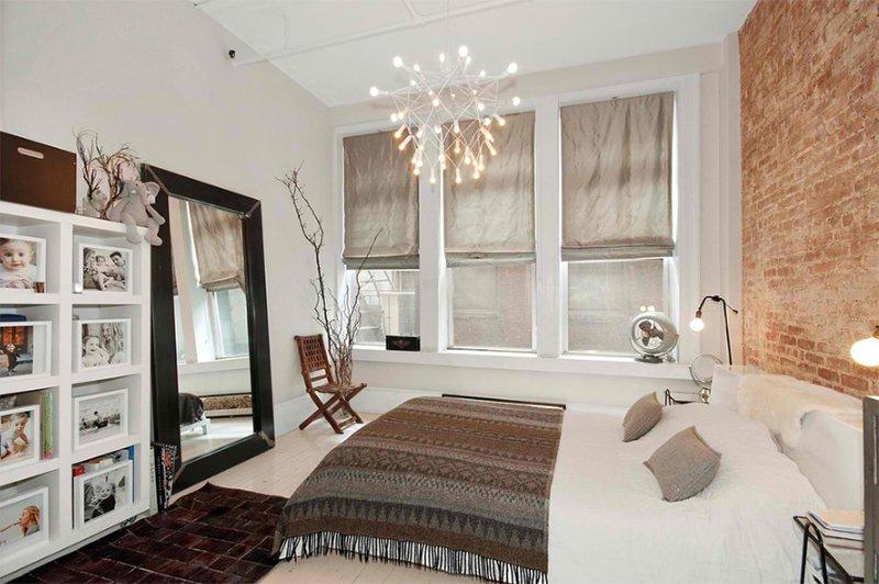 Union Square Loft Bedroom