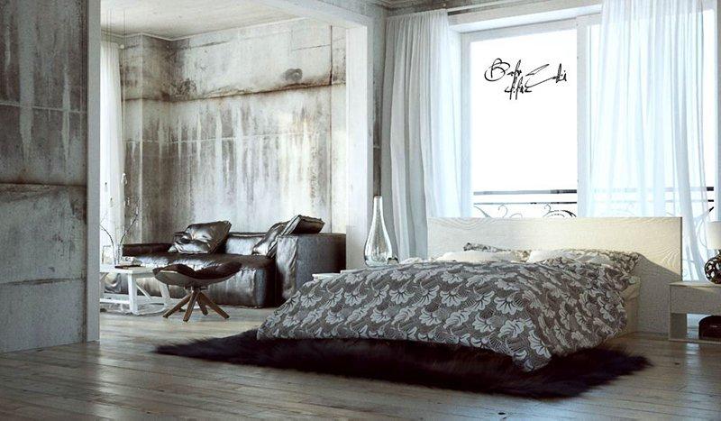 Loft Design Bedroom