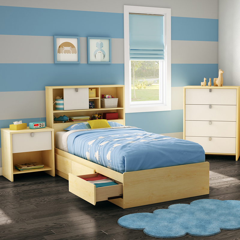 Cookie Twin Storage Mate's Customizable Bedroom Set