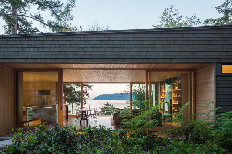 Lone Madrone Retreat landscaping